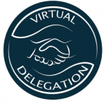 Virtual Delegation Logo