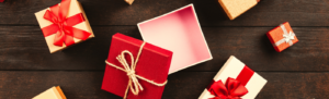 Picture of Christmas gifts